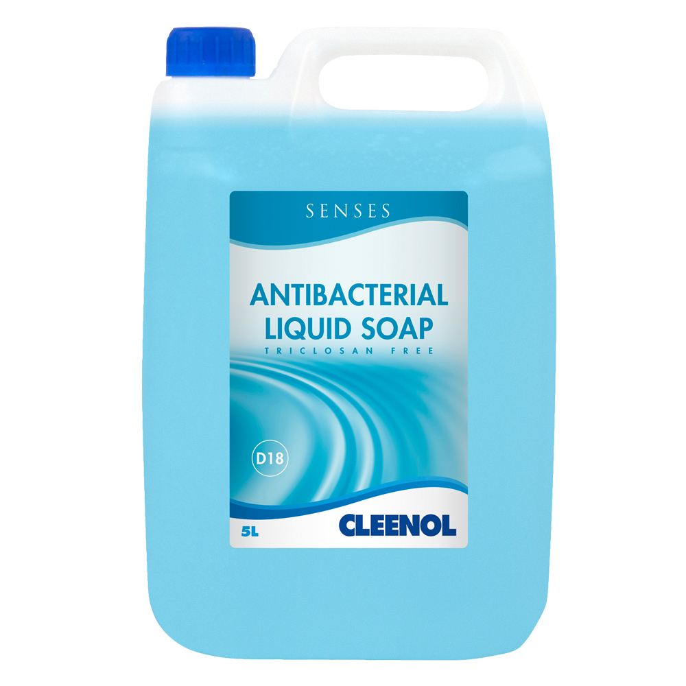 Senses Antibacterial Soap 2 X 5ltrs Smudge Amp Dribble